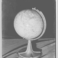 Globe of the world. View of North and South America