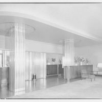 Governor Shepherd apartments at 2121 Virginia Ave. N.W. Lobby of Governor Shepherd apartments II