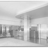Governor Shepherd apartments at 2121 Virginia Ave. N.W. Lobby of Governor Shepherd apartments I