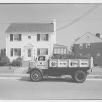 Griffith Consumers Co. Coal truck and house, Webster St., N.E. I