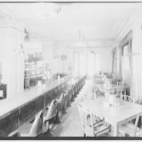 Hamilton Hotel, 15th and K Sts., N.W. Coffee shop in Hamilton Hotel I