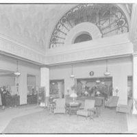 Hamilton Hotel, 15th and K Sts., N.W. Lobby in Hamilton Hotel I