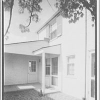 Hamlet house, Chevy Chase Land Co. Exterior of Hamlet house IV