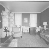 Hamlet house, Chevy Chase Land Co. Interior of office house I