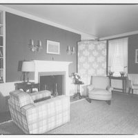 Hamlet house, Chevy Chase Land Co. Interior of office house II