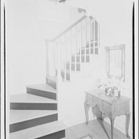 Hamlet house, Chevy Chase Land Co. Staircase, Hamlet house