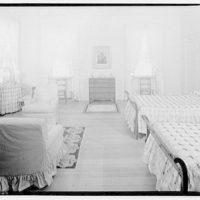 Home of Major Davidson, Mechanicsville, Maryland by Schuyler & Lounsbery. Bedroom in Major Davidson residence V