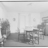 House at 4610 Reno Rd., F.J. Fisher Properties or Chevy Chase Land Co. Interior of house at 4610 Reno Rd. III