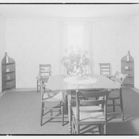 House at 4610 Reno Rd., F.J. Fisher Properties or Chevy Chase Land Co. Interior of house at 4610 Reno Rd. IV