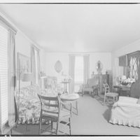 House at 4610 Reno Rd., F.J. Fisher Properties or Chevy Chase Land Co. Interior of house at 4610 Reno Rd. II
