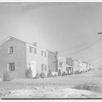 Houses by Schreier & Patterson, architects. Row of houses