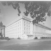 Internal Revenue Service. View of Internal Revenue Service