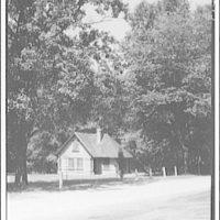 Joaquin Miller cabin in Rock Creek Park. Exterior of Joaquin Miller Cabin