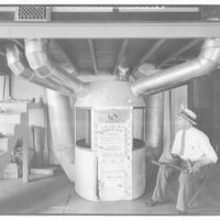 Lennox Furnace Co. Experimental testing room