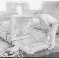 Lennox Furnace Co. Making radiator partition