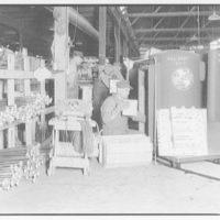 Lennox Furnace Co. Tearing down furnace for shipment