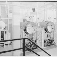 Leon Chatelain Jr., architect. Brookland dial center boiler room