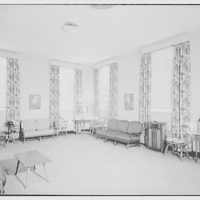 Leon Chatelain Jr., architect. Brookland dial center ladies lounge