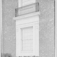 Leon Chatelain Jr., architect. Brookland dial center window detail