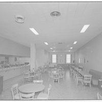 Leon Chatelain Jr., architect. Cafeteria