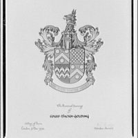 Lewis J. Golding. Coat of arms of Lweis J. Golding