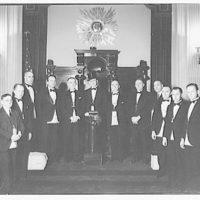 Masonic Lodge no. 37 Congress. Taylor, Master I