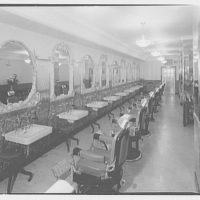 Mayflower Hotel. Barbershop in Mayflower Hotel III