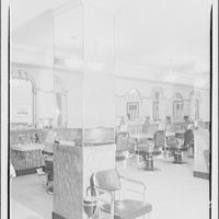 Mayflower Hotel. Barbershop in Mayflower Hotel III
