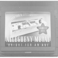 McArthur Advertising Corporation, 2480 16th Street. Allegheny Metal display at Union Station I