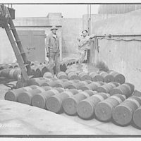 Military subjects. 12-inch projectiles