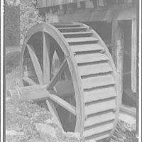 Millwood, Virginia and Boyce, Virginia. Wheel of old mill near Millwood, Virginia
