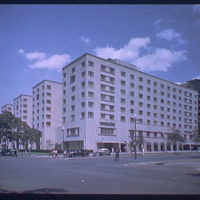 Miscellaneous building exteriors. Statler Hotel exterior from street I