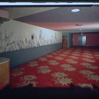 Miscellaneous building interiors. Theater lobby II