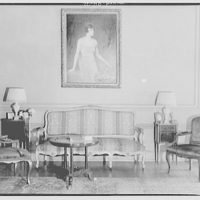 Miscellaneous interiors. Couch, chairs and painting