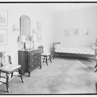 Miscellaneous interiors. Interior, to bed or lounge I