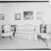Miscellaneous interiors. Living room, to couch and two chairs