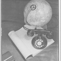Miscellaneous subjects. Telephone, directory and globe