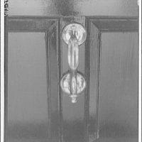Mount Vernon. Door knocker at Mount Vernon II