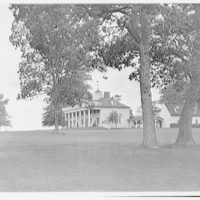 Mount Vernon. Front and right side of Mount Vernon with rail on top I
