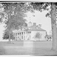 Mount Vernon. Front and right side of Mount Vernon with rail on top II