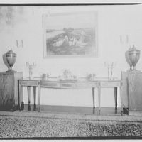 Mrs. Curtis, residence, 1911 F St., N.W. Furniture of Mrs. Curtis I