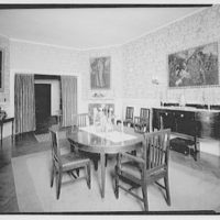 Mrs. Freyer, residence, 1771 Massachusetts Ave. Furniture and interiors of Mrs. Freyer XI