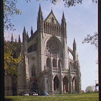 National Cathedral exteriors. Exterior of National Cathedral III