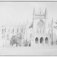 National Cathedral exteriors. North transept of National Cathedral I