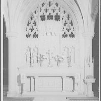 National Cathedral interiors. Altar in Bethlehem Chapel in National Cathedral I