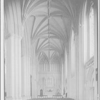 National Cathedral interiors. Saint John's Chapel in National Cathedral III