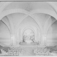National Cathedral interiors. Saint Joseph of Arimathea Chapel, National Cathedral