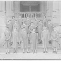 National Cathedral. Lady aides at National Cathedral I