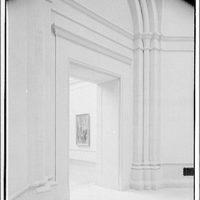 National Gallery of Art. Doorway of exhibit room in National Gallery