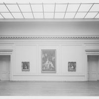 National Gallery of Art. Exhibit room in National Gallery I